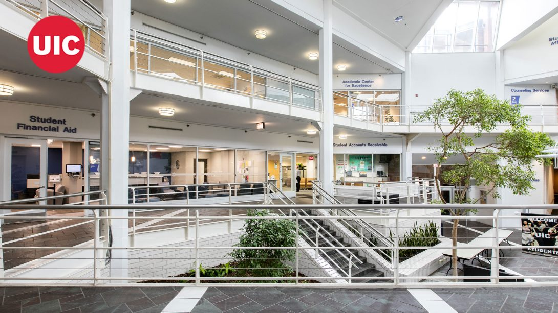 Student Services Building Inside